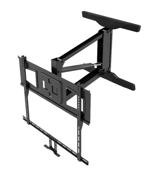 "Full Motion TV Mount bracket | Lowering Pull down Television 55"" to 65"" Cost"