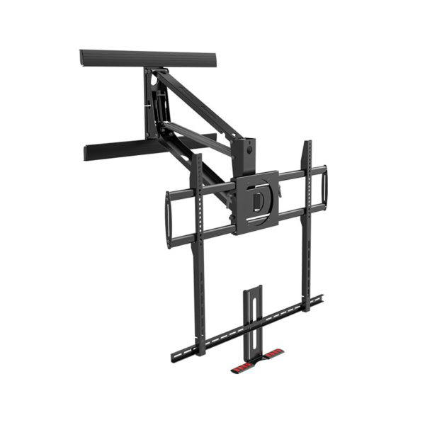 """Pull Down TV Mount for 70"""" to 100"""" Lowering the TV for eye level viewing Specification"""