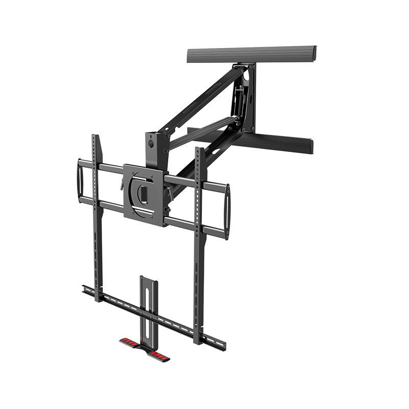 Tranquilmount tmo800a gas spring mantel fireplace easily - Fireplace tv mount pull down ...