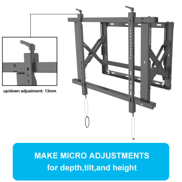 Pull out TV mount universal bracket (VESA Wall Mount) - Samsung, Sony, Panasonic Specification