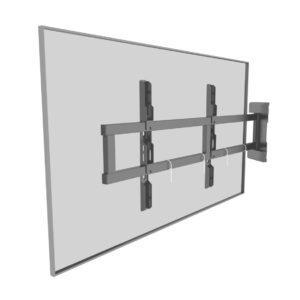 Swing out TV mount universal bracket