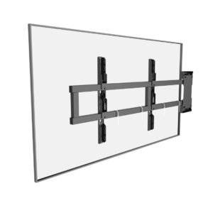 Swing out TV mount universal bracket