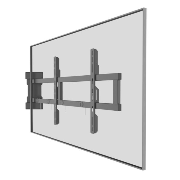 Swing out TV mount universal bracket installation
