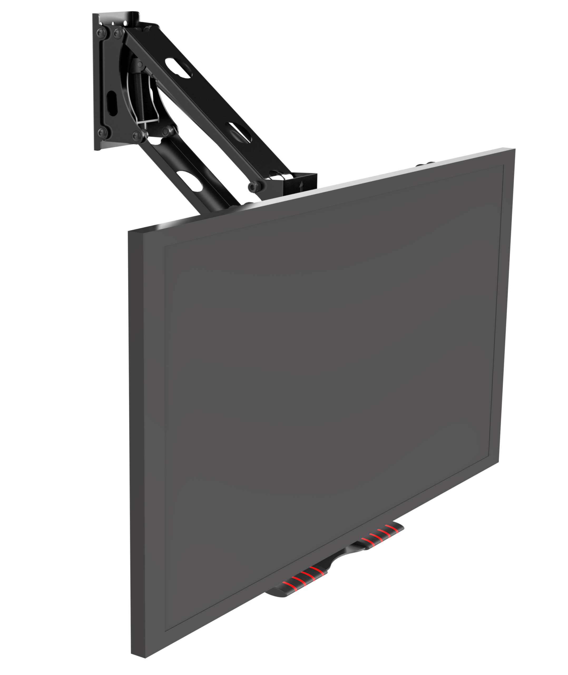 "Buy Pull down TV wall mount for smaller light TVs size between 32""- 49"""