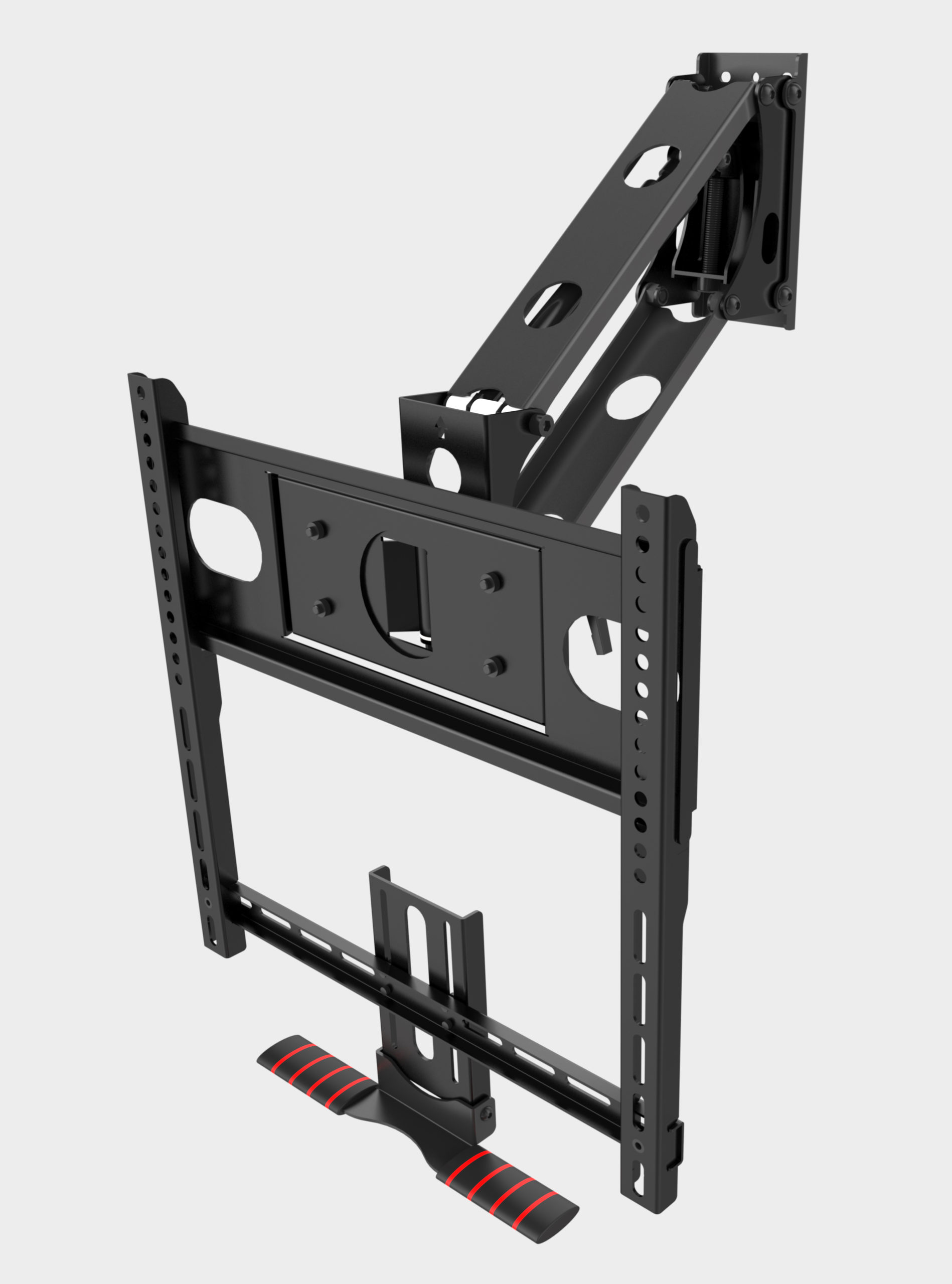 "Best Pull down TV wall mount for smaller light TVs size between 32""- 49"""