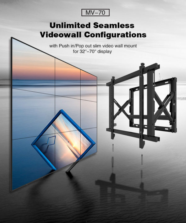 video wall mount commercial